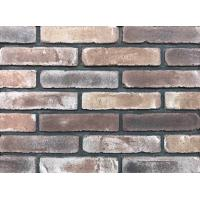 Wholesale Antique Thin Brick Veneer Through Molded / Sintered With Different Colors Mixed from china suppliers