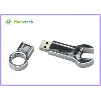 Buy cheap Mini Spanner Wrench Creative Metal Thumb Drives 32GB 16GB 8GB 4GB High Speed from wholesalers