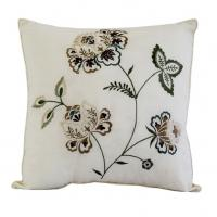 Square Throw Pillow Size : Always Home Flowering Vine Reversible Throw Pillow In Square Size 16? x16? of item 105674558