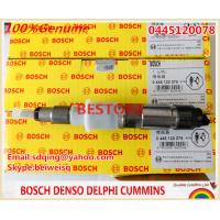 BOSCH Genuine and New common rail injector 0445120078 for XICHAI 1112010-630