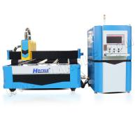 Wholesale Carbon stainless Aluminum 500w 750w 1000w 1530 fiber laser cutting machine of IPG Raycus laser source from china suppliers