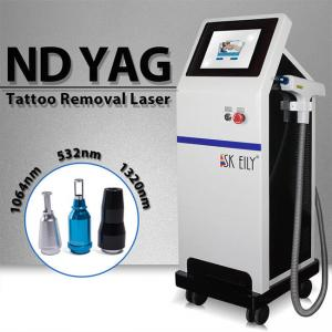 Wholesale 6ns Pulse Width 800W 10Hz Laser Tattoo Removal Equipment from china suppliers
