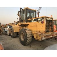 Buy cheap Original paint Used CAT Wheel Loader 950F Made in japan engine power 180hp from wholesalers