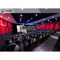 China Electric 4D Cinema System Customized Seat / Professional 3D Glasses 4d Cinema on sale
