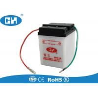 China Small 6 Volt 4ah Rechargeable Battery , Dry Charged Sealed Lead Acid Battery 6v 4ah on sale