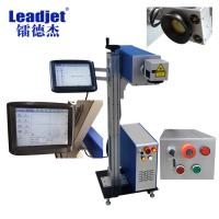 China Permanent Sculpture Barcode Laser Marking Machine , Date Laser Marking Machine on sale