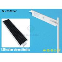 China Energy-Saving Solar Powered LED Street Lights With PIR Motion Sensor on sale