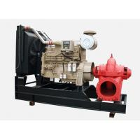 Wholesale 350GPM cummins diesel engine fire pump set 200hp horizontal stainless impeller water Irrigation from china suppliers