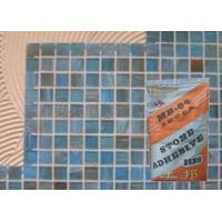 China White Sandstone Heat Resistant Mosaic Tile Adhesive For Bathroom / Building on sale