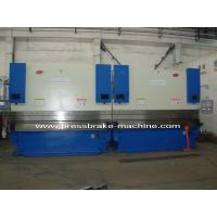 CNC Hydraulic Tandem Press Brake , 200 T Sheet Metal Bender 8mm Thickness
