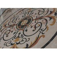 Wholesale Mixed Color Round Mosaic Medallion Floor Patterns For Hotel / Residential from china suppliers