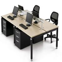 Wholesale Customized Size Office Furniture Partitions / Wooden Modular Office Workstation from china suppliers