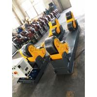 Wholesale 20 Ton Welding Turning Rolls , Heavy Duty Rotator PU Schneider Driver from china suppliers