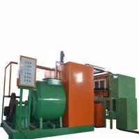 China Easy Operate Paper Pulp Molding Machine , Egg Packaging Box Maker on sale