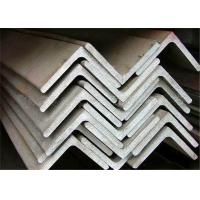 Quality Hot Rolled Stainless Steel Equal Angle 90 Degree Customized Length for sale