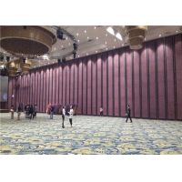 Wholesale MDF Aluminum Frame Soundproof Folding Wood Partition Wall For Conference Center from china suppliers