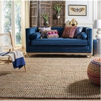 Buy cheap Home Office 6mm 2500gsm Flat Weave Natural Soft Sisal Carpet from wholesalers