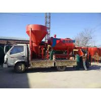 Wholesale High Speed Double Shaft Paddle Mixer , Dry Mortar Machine For Animal Feeds from china suppliers