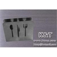 China Stainless steel napkin holder on sale