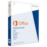 China Key Card Office 2013 Professional Plus , All Version Languages Microsoft Office Pro Plus on sale