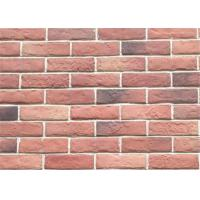 Wholesale 3DWN05 Decorative Interior Thin Brick Panels / Wall  Building Materials With Turned Color 210*55 from china suppliers