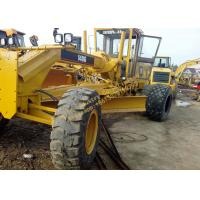 China Yellow Color Used Motor Grader 140G 2009 Year With 138kW Rated Power on sale