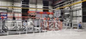 China Rotomolding Equipment rotary moulding machine horizontal plastic injection moulding machine on sale