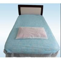 Wholesale PP Non Woven Disposable Bed Sheets Waterproof For Hospital with Elastic End from china suppliers