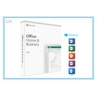 Wholesale 1 Device MS Office Home And Business 2019 Product Key Card DVD Media For Mac/PC from china suppliers