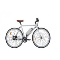 Single Speed Battery Assisted Push Bikes , 700C Electric Powered Push Bikes