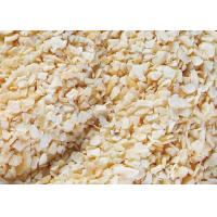 Wholesale Dehydrated Garlic Flakes , Fired Garlic Granules 24 Months Shelf Life from china suppliers