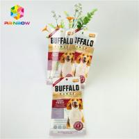 Wholesale Mylar Laminated Plastic Pet Food Pouch Custom Glossy Surface With Clear Window from china suppliers