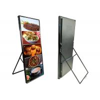 Wholesale P2.5mm HD LED Poster Display Floor Stand Ultra Thin Indoor Advertising Poster Led Mirror Display Screen from china suppliers