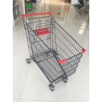 Wholesale 270 L Large Capacity Supermarket Grocery Shopping Cart With 4 Casters from china suppliers