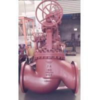 Wholesale 2 Inch - 48 Inch Pressure Seal Globe Valve BS 5352 With Gear Bare Shaft from china suppliers