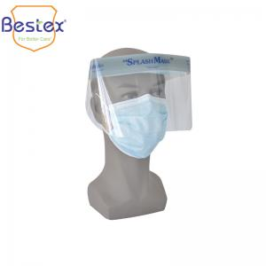 Wholesale Disposable PET 32cm 22cm Anti Virus Clear Face Shield from china suppliers
