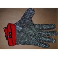 China Anti-spear Knife Stainless Steel Gloves With Five Fingers For Slaughterhouse on sale