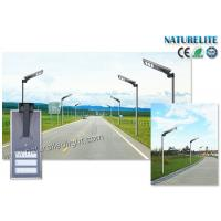 Wholesale Outdoor 50W Solar Powered Street Lights Smart Dimmable Motion PIR Sensor All In One from china suppliers