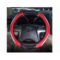 Wholesale Black White Red Leather Car Steering Wheel Cover For Honda No Smell from china suppliers