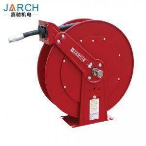 Buy cheap Medium Pressure Oil Hose Reels , Dual Pedestal Fuel Spring Retractable Reels from wholesalers