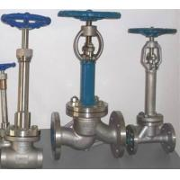 Wholesale Cryogenic Bellow Seal Globe Valve Extended Bonnet LF2 LCB LCC CF3M For Air Gases from china suppliers