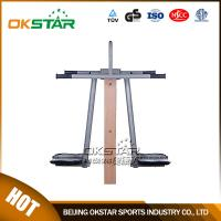 Quality outdoor fitness equipment park wood surfboard exercise machine for sale