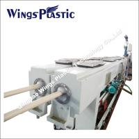 Wholesale Plastic PVC Electric Threading Pipe Making Machine / Extrusion Line / Production Line from china suppliers