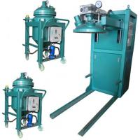 Wholesale Thin film degassing vacuum mixing and injection device Epoxy Resin Automatic Pressure Gel Hydraulic APG Clamping Machine from china suppliers