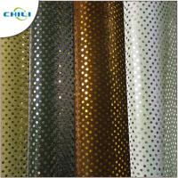 Buy cheap Multi Color Glitter Fabric Sheets , Silver Glitter Fabric Fashionable For Shoes from wholesalers