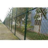 Wholesale Size Customized Prison Wire Fence , Razor Wire Fence For Government Offices from china suppliers