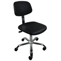 Wholesale PU Foam Cleanroom Antistatic ESD Office Chair 440*440mm from china suppliers