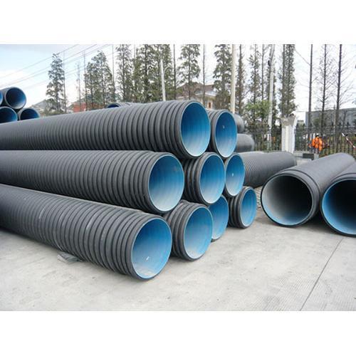 Hdpe corrugated drainage pipe