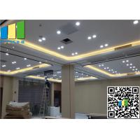 Wholesale Majestic Wall Paper Finishes Hanging Sliding Door Acoustic Operable Partition Wall from china suppliers