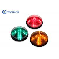 Wholesale 200mm Yellow Arrow Traffic Light LED Module , LED Traffic Signal Lights Long Life Span from china suppliers